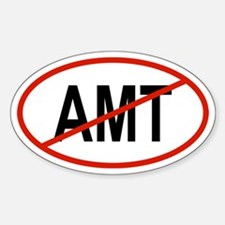 AMT Oval Decal