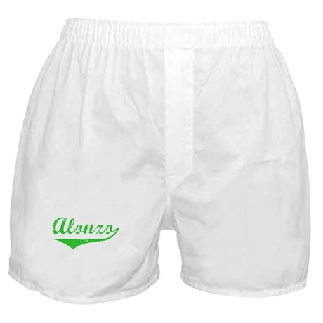 Alonzo Vintage (Green) Boxer Shorts