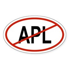 APL Oval Decal