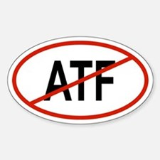 ATF Oval Decal