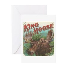 King Moose Greeting Card