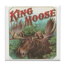 King Moose Tile Coaster