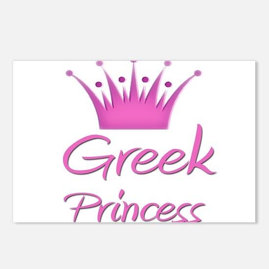 Greek Princess Postcards (Package of 8)