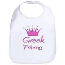 Greek Princess Bib