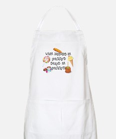 What Happens at Grammy's... BBQ Apron
