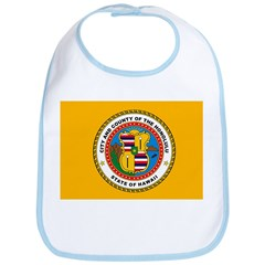 Honolulu Flag Bib