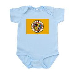 Honolulu Flag Infant Creeper