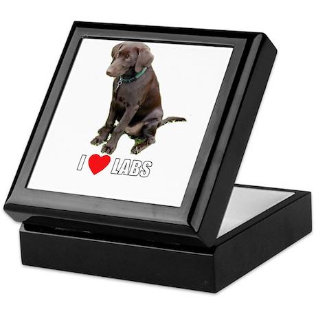 I Love Labs Keepsake Box