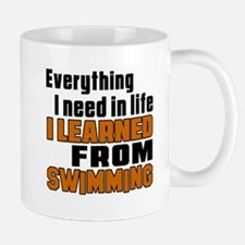 Everything I Learned From Swimming Mug