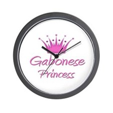 Gabonese Princess Wall Clock