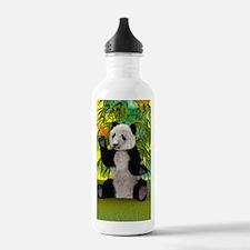 3D Rendering Panda Bear Water Bottle