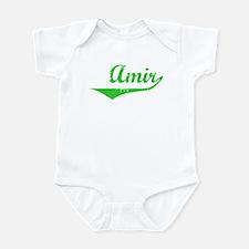 Amir Vintage (Green) Infant Bodysuit