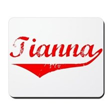 Tianna Vintage (Red) Mousepad