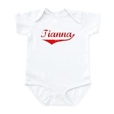 Tianna Vintage (Red) Onesie
