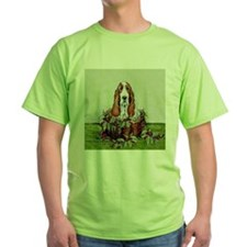 Christmas Basset Holiday Dog T-Shirt