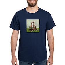 Christmas Basset Holiday Dog T-Shirt