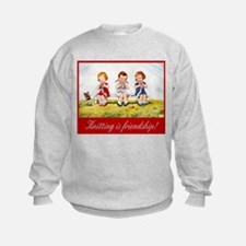 """Knitting Baby"" Sweatshirt"