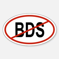 BDS Oval Decal