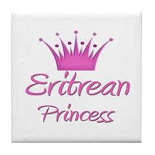 Eritrean Princess Tile Coaster