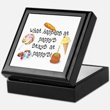 What Happens at Pappy's... Keepsake Box