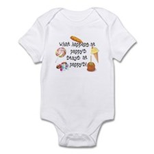 What Happens at Pappy's... Funny Infant Bodysuit