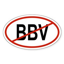 BBV Oval Decal