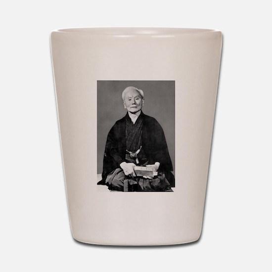 Gichin Funakoshi Shot Glass