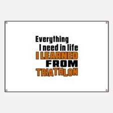 Everything I Learned From Triathlon Banner