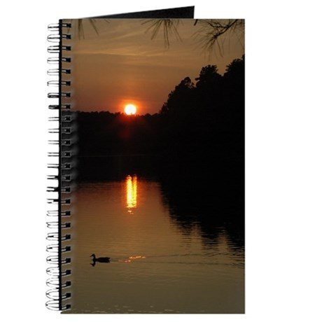 Lake Sunset Journal