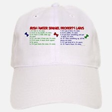 Irish Water Spaniel Property Laws 2 Baseball Baseball Cap