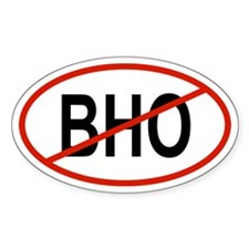 BHO Oval Bumper Stickers