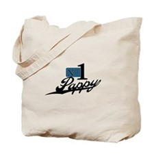 Number One Pappy Tote Bag
