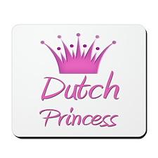 Dutch Princess Mousepad
