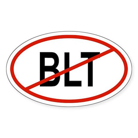 BLT Oval Sticker