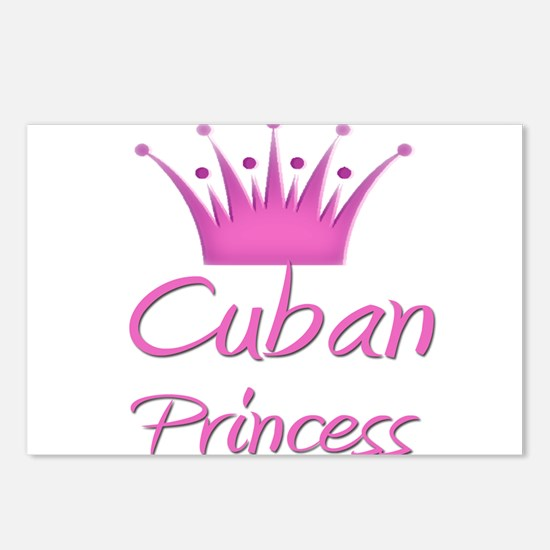 Cuban Princess Postcards (Package of 8)