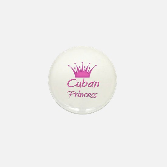 Cuban Princess Mini Button