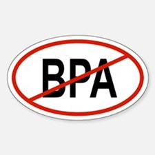 BPA Oval Decal