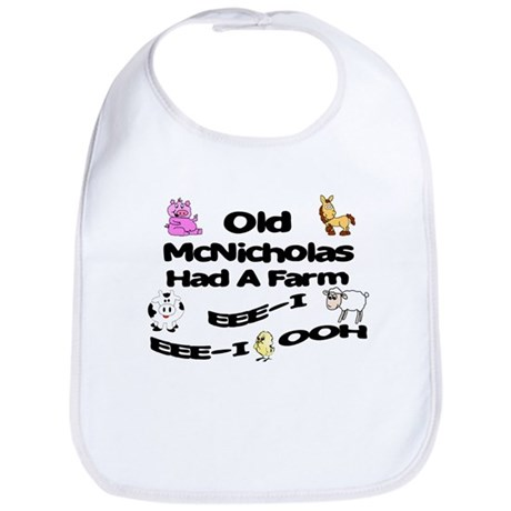 Old McNicholas Had a Farm Bib