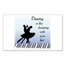 Dancing Rectangle Decal