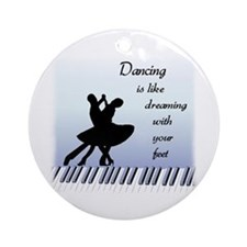 Dancing Ornament (Round)