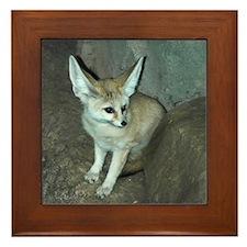 Fennec Fox Framed Tile