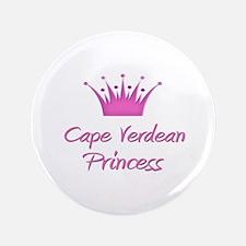 """Cape Verdean Princess 3.5"""" Button"""