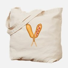 Corn Dogs Tote Bag