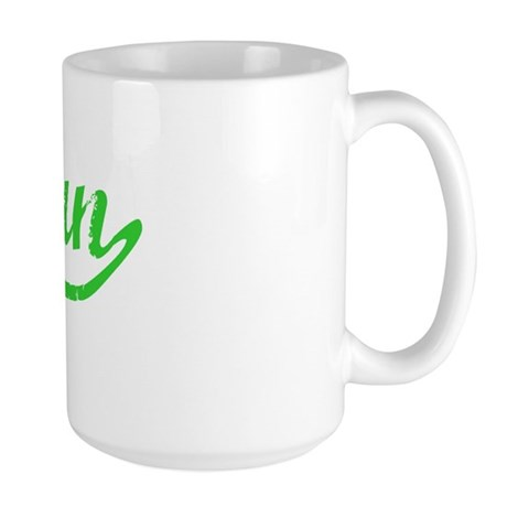 Arjun Vintage (Green) Large Mug