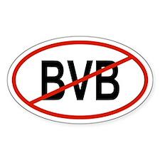 BVB Oval Decal