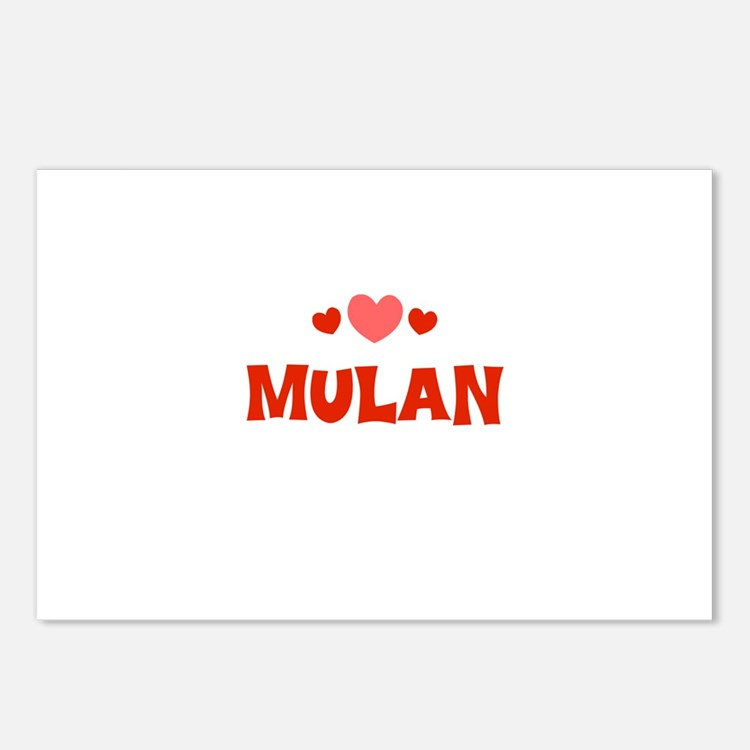 Mulan Postcards (Package of 8)