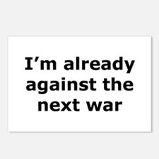 against the next war Postcards (Package of 8)
