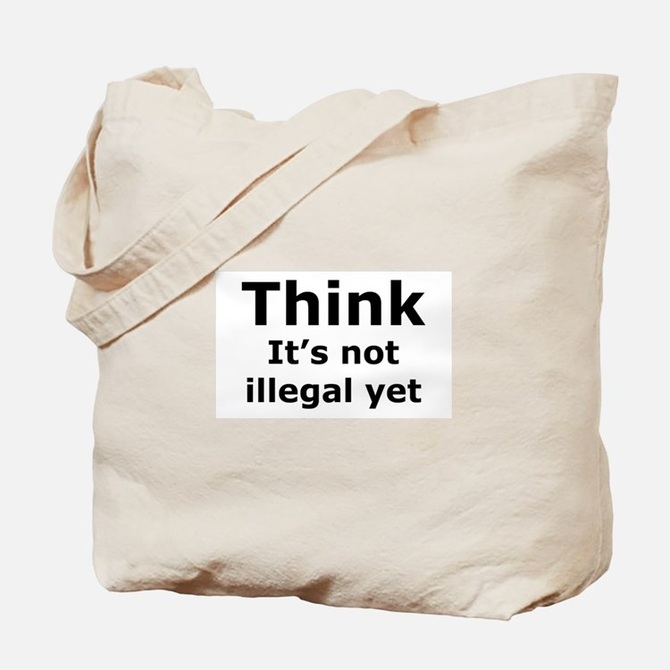Think Tote Bag