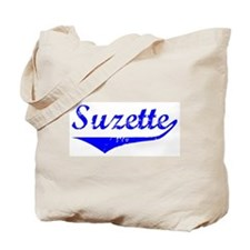 Suzette Vintage (Blue) Tote Bag