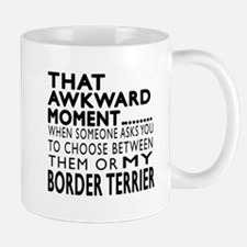 Awkward Border Terrier Dog Designs Mug